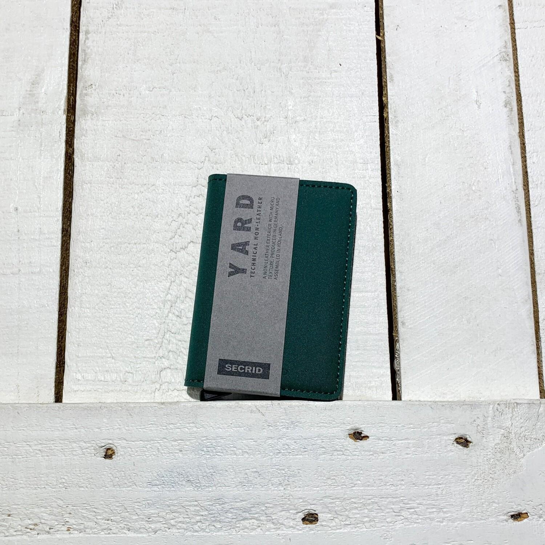 SECRID –  Slimwallet Yard Green