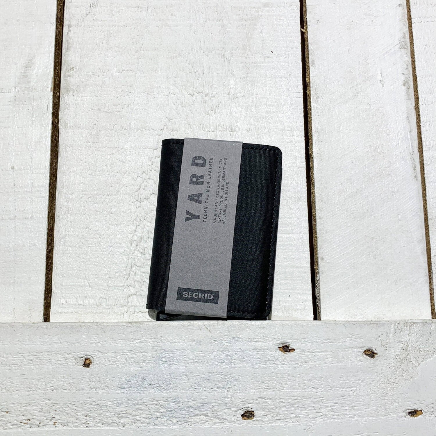 SECRID –  Slimwallet Yard Black