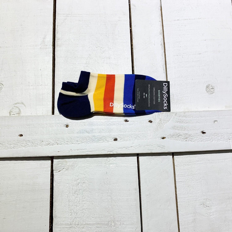 Dilly Socks – Short Multi Line