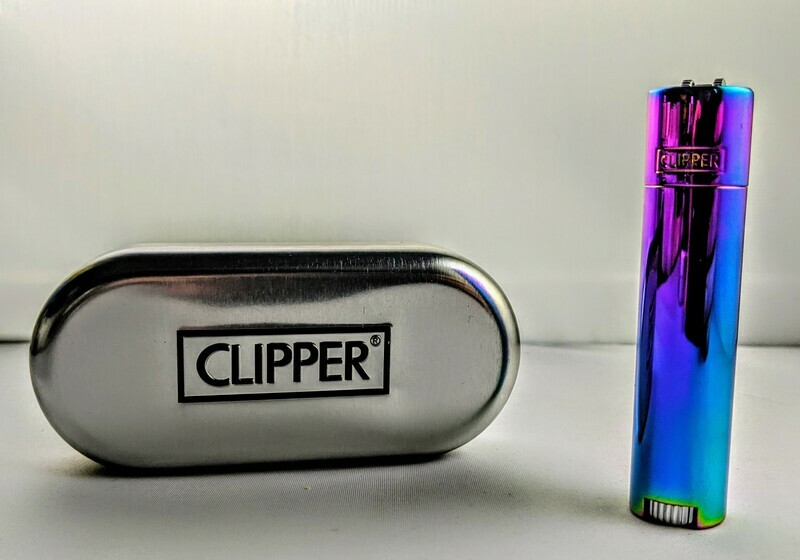 Clipper Fancy Lighter with Case