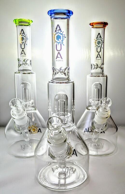 Aqua Showerhead Beaker
