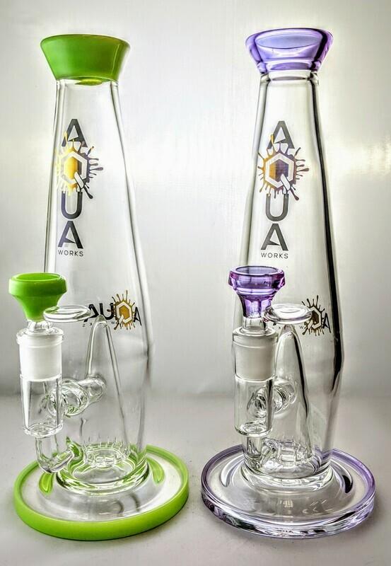 Aqua Lava Lamp Water Pipe