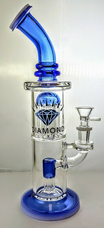 D.G Double Tree Waterpipe w/ Color
