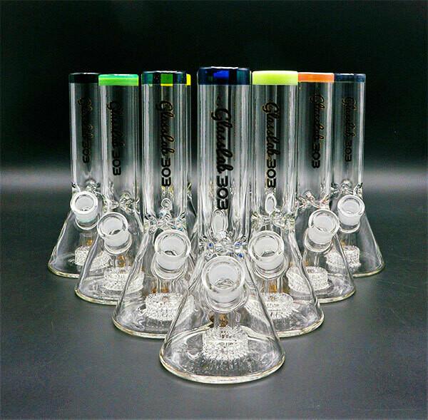 GlassLab Lace Waterpipe - Mini