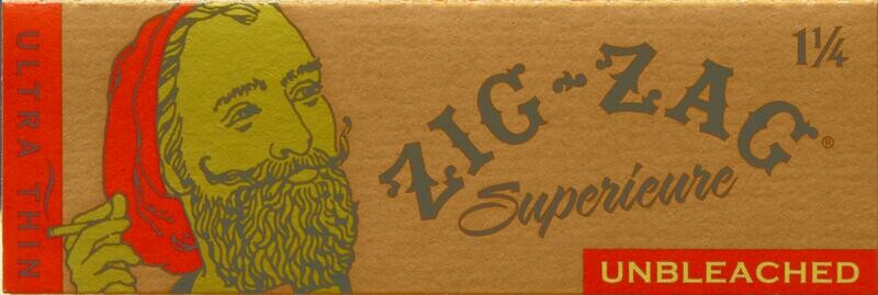 Zig Zag Paper - Unbleached