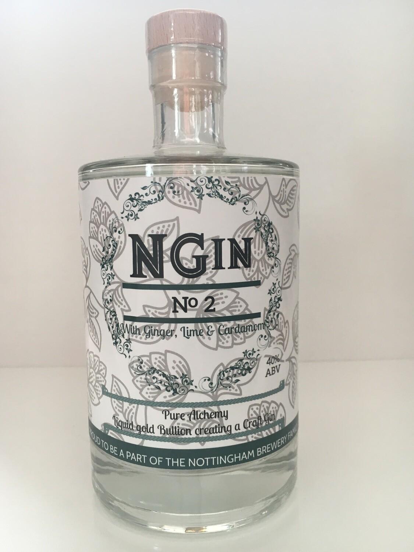 NGin Beer Gin No2 - 70cl