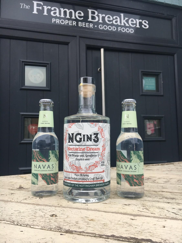 NGin Beer Gin No3 -70cl