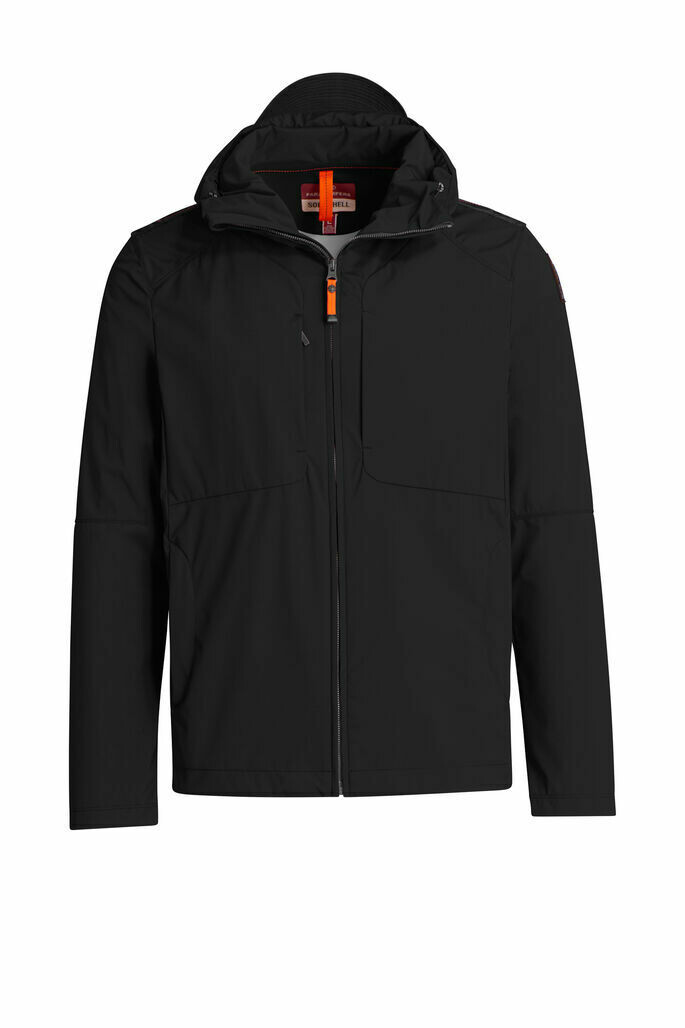 Parajumpers | Soft Shell Jacket Rudy - Black