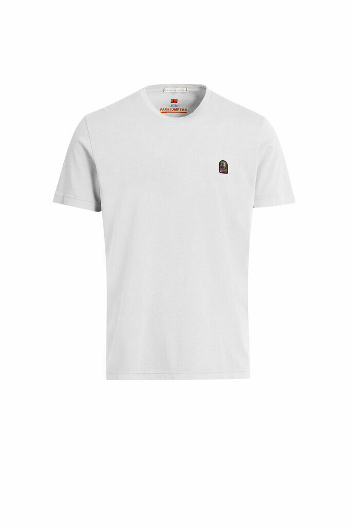 Parajumpers   Patch Tee - White