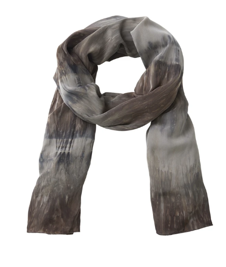 Rabens Saloner | Scarf Merete - Charcoal Combo