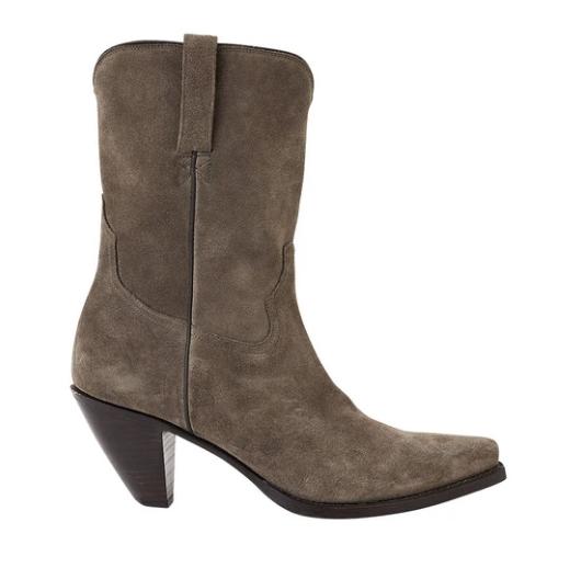Rabens Saloner | High Boots Vidette - Grey