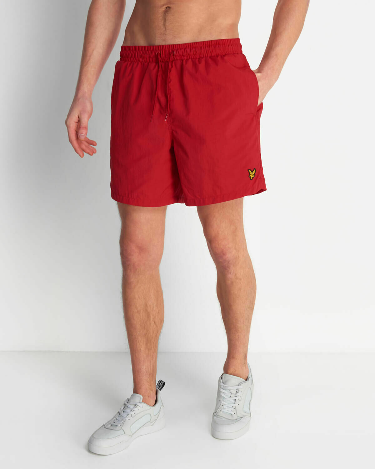 Lyle & Scott | Plain Swim Short - Gala Red