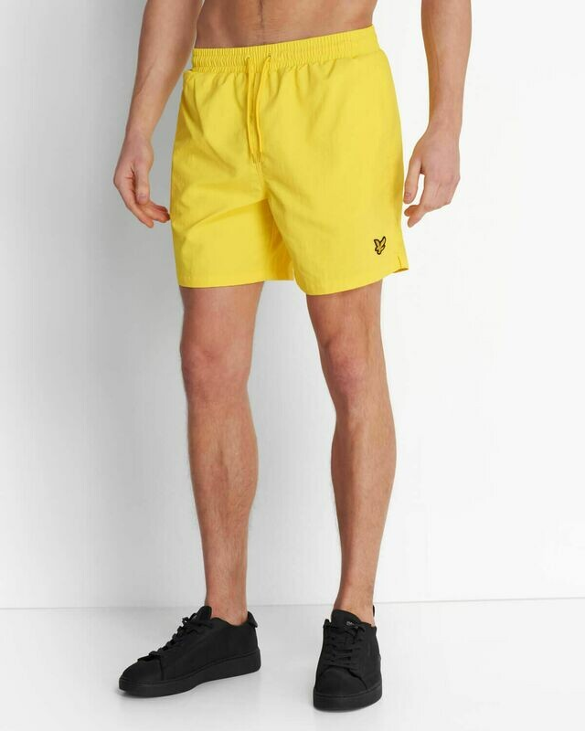 Lyle & Scott   Plain Swim Short - Buttercup Yellow