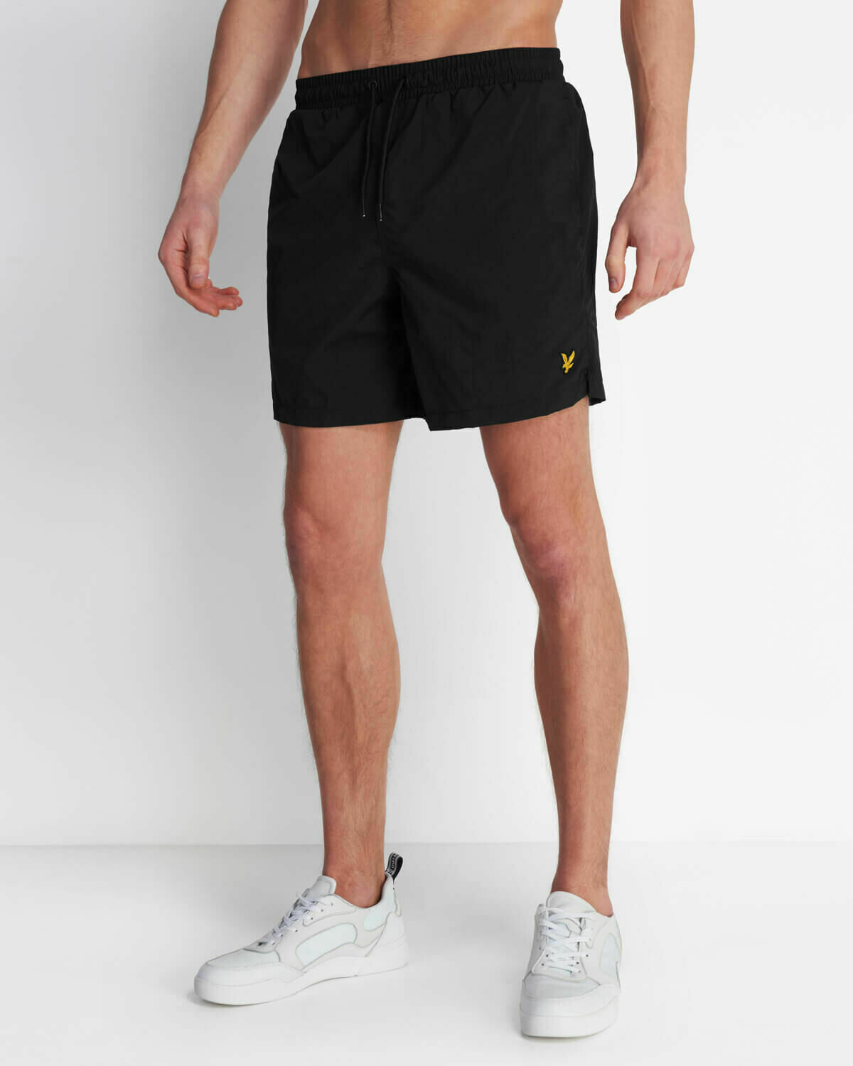 Lyle & Scott | Plain Swim Short - Jet Black