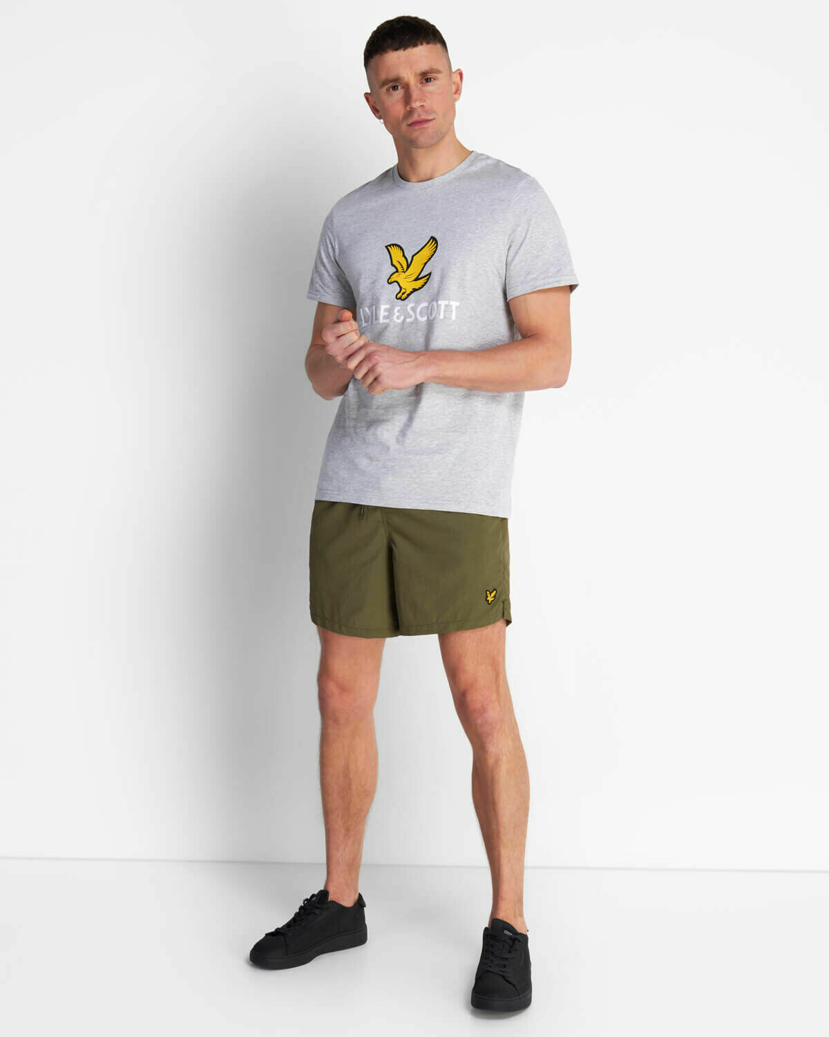 Lyle & Scott | Plain Swim Short - Linchen Green