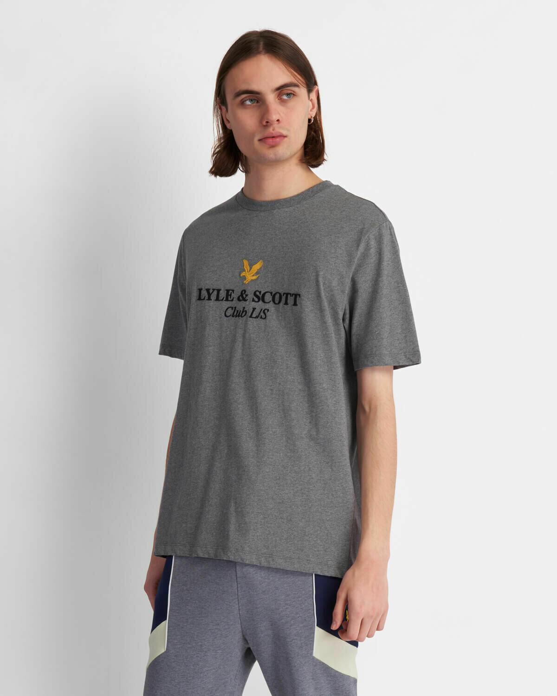 Lyle & Scott | Club L/S T-Shirt - Mid Grey Marl