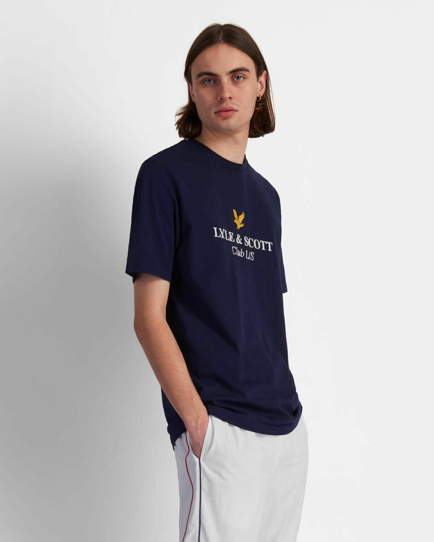 Lyle & Scott | Club L/S T-Shirt - Navy