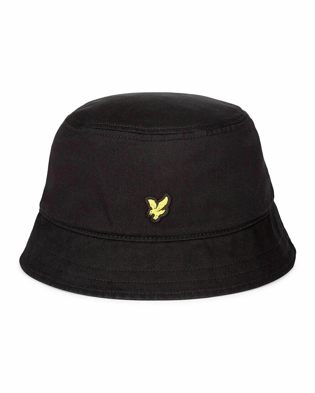 Lyle & Scott   Cotton Twill Bucket Hat - True Black