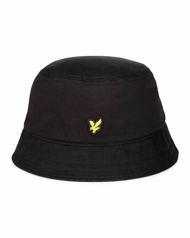 Lyle & Scott | Cotton Twill Bucket Hat - True Black