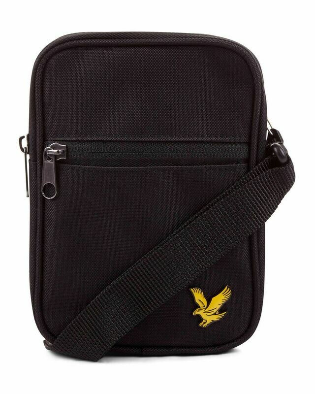 Lyle & Scott | Mini Messenger - True Black