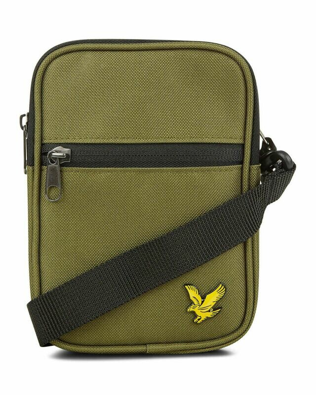 Lyle & Scott | Mini Messenger - Lichen Green