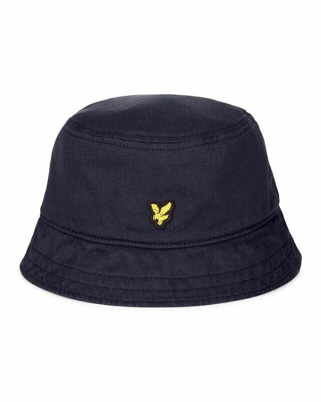 Lyle & Scott | Cotton Twill Bucket Hat - Dark Navy