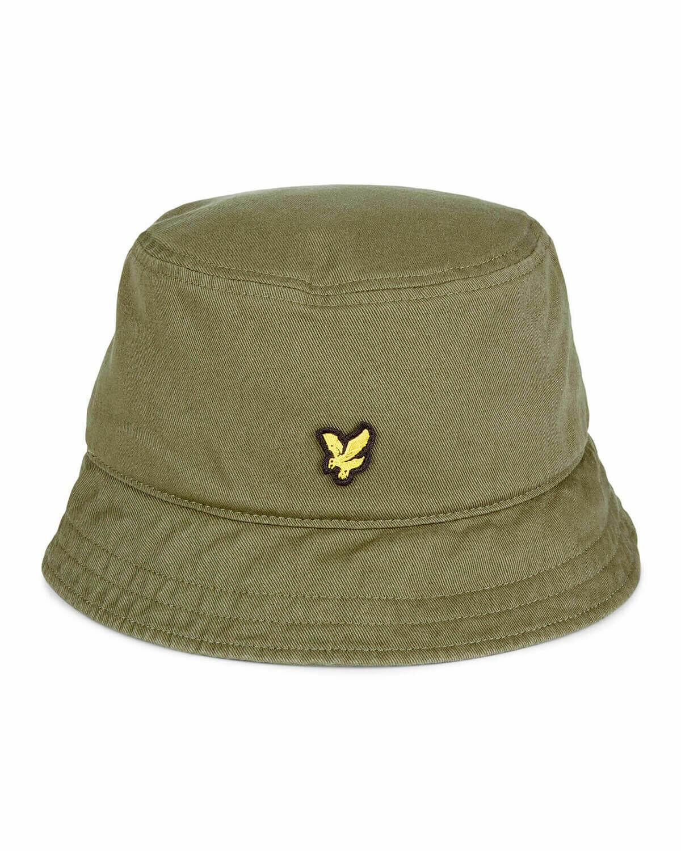 Lyle & Scott | Cotton Twill Bucket Hat - Lichen Green