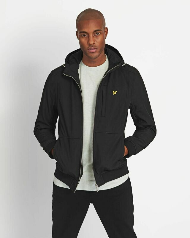 Lyle & Scott | Softshell Jacket - Jet Black