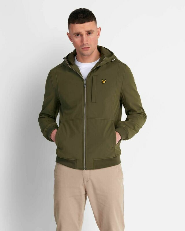 Lyle & Scott | Softshell Jacket - Lichen Green