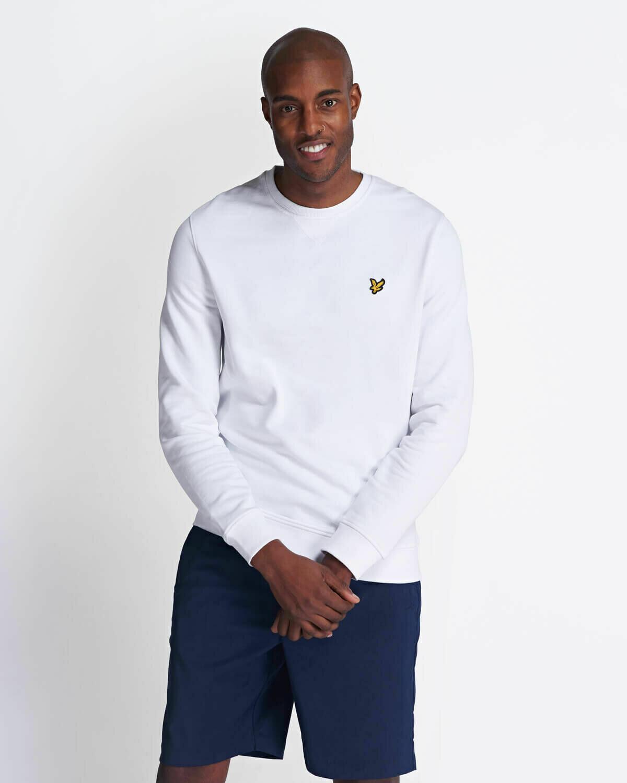 Lyle & Scott | Crew Neck Sweatshirt - White