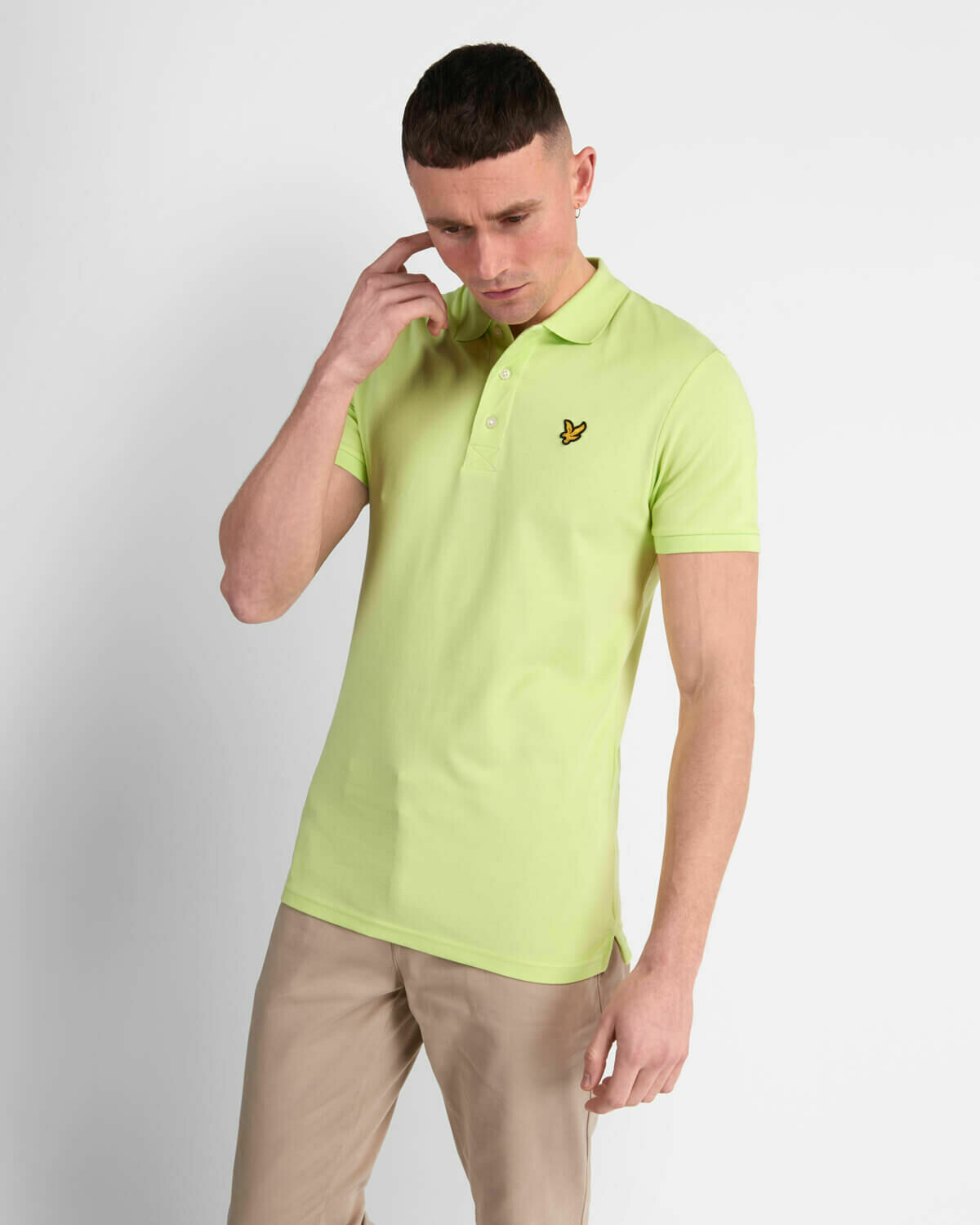 Lyle & Scott | Slim Stretch Polo Shirt - Sharp Green