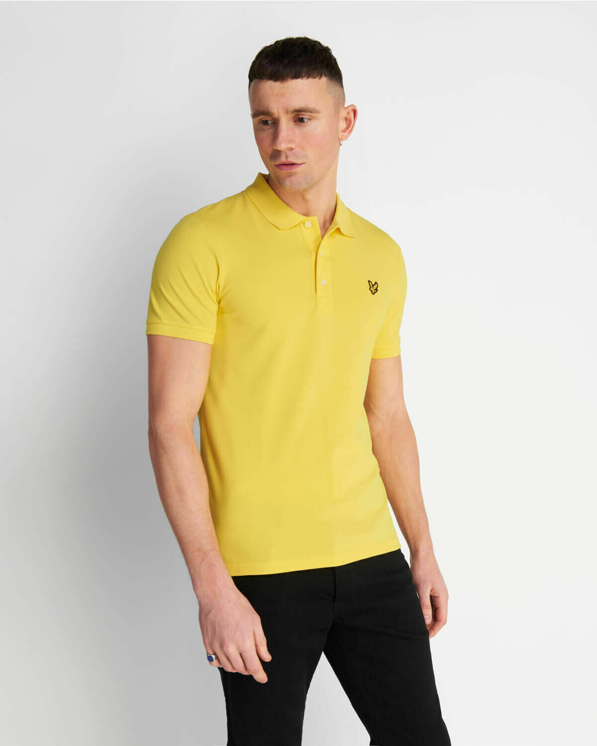 Lyle & Scott | Slim Stretch Polo Shirt - Buttercup Yellow