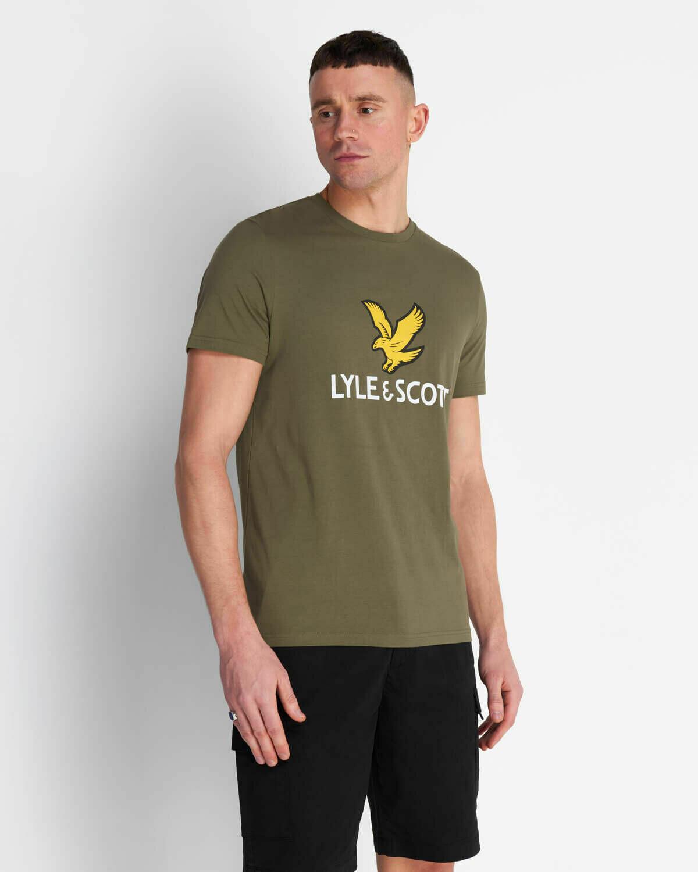 Lyle & Scott | Logo T-shirt - Lichen Green