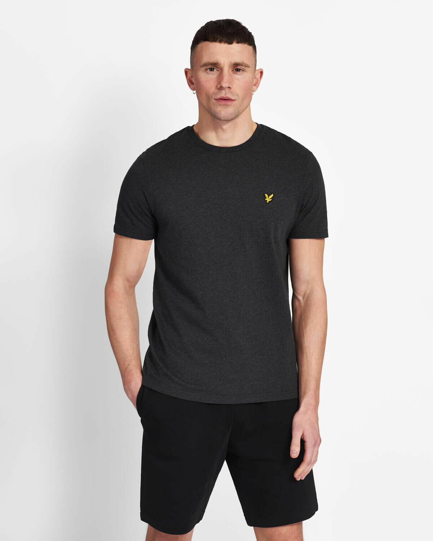 Lyle & Scott | Crew Neck T-Shirt - Charcoal Marl