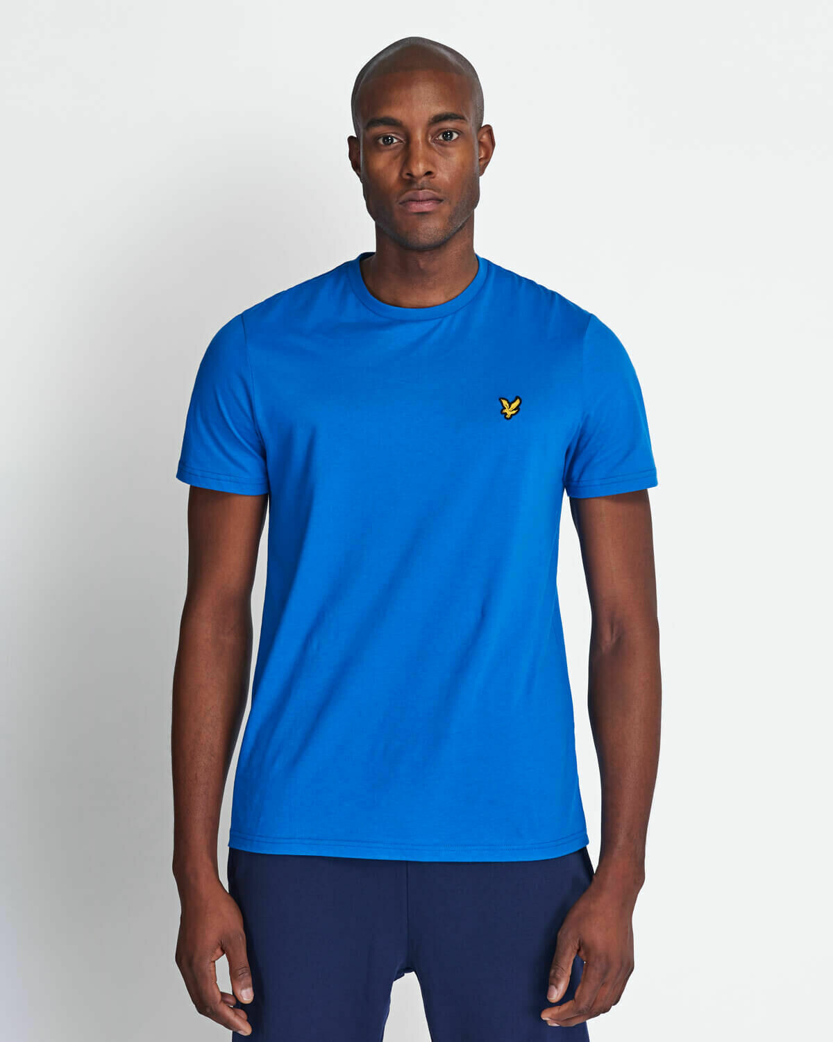 Lyle & Scott | Crew Neck T-Shirt - Bright Cobalt