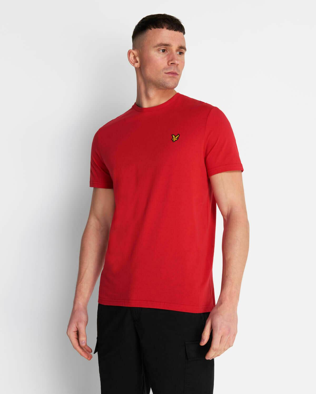 Lyle & Scott | Crew Neck T-Shirt - Gala Red