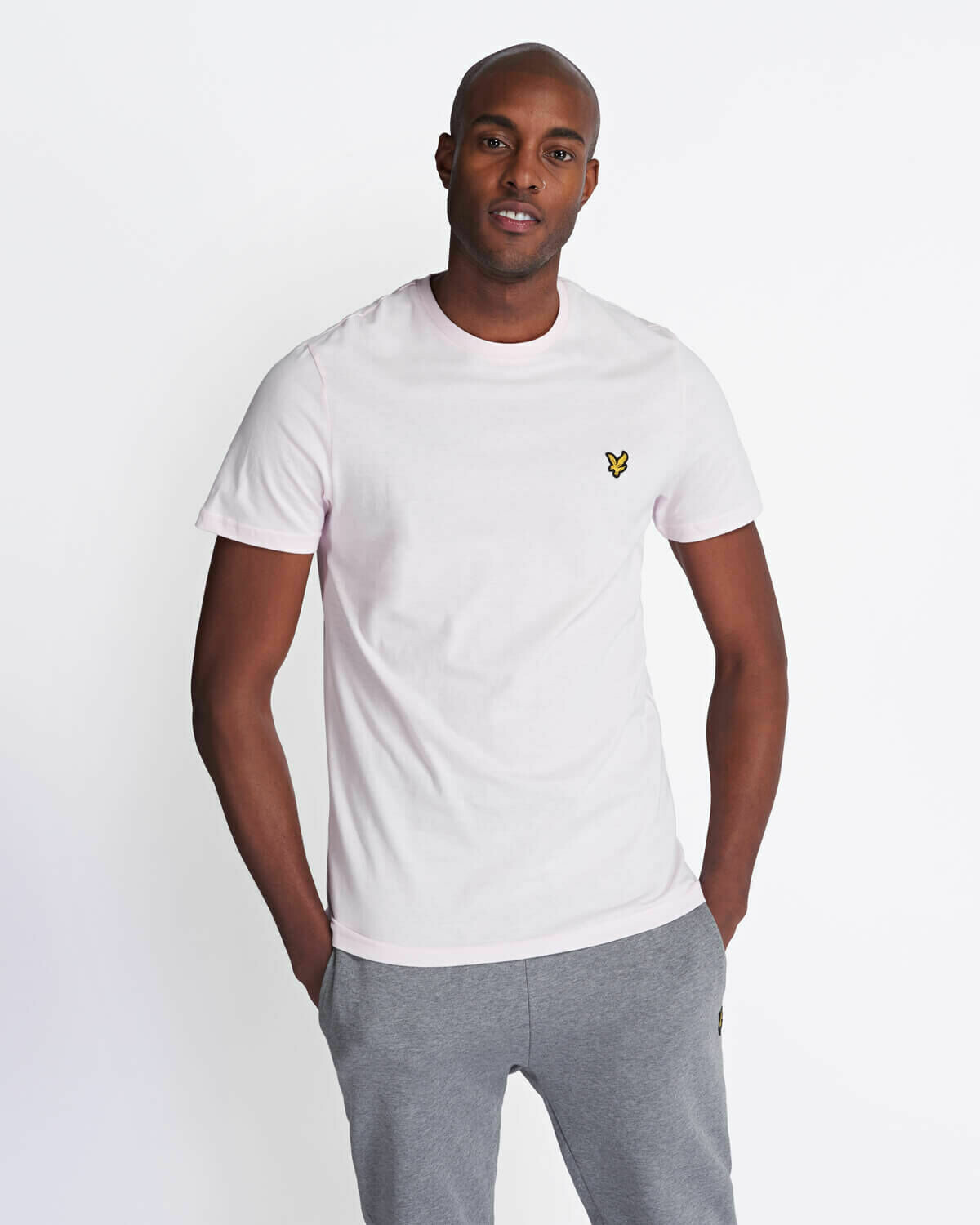 Lyle & Scott | Crew Neck T-Shirt - Strawberry Cream