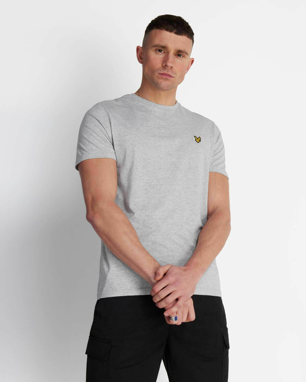 Lyle & Scott | Crew Neck T-Shirt - Light Grey Marl