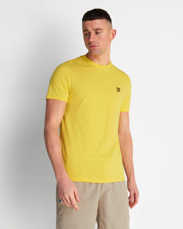 Lyle & Scott | Crew Neck T-Shirt - Buttercup Yellow