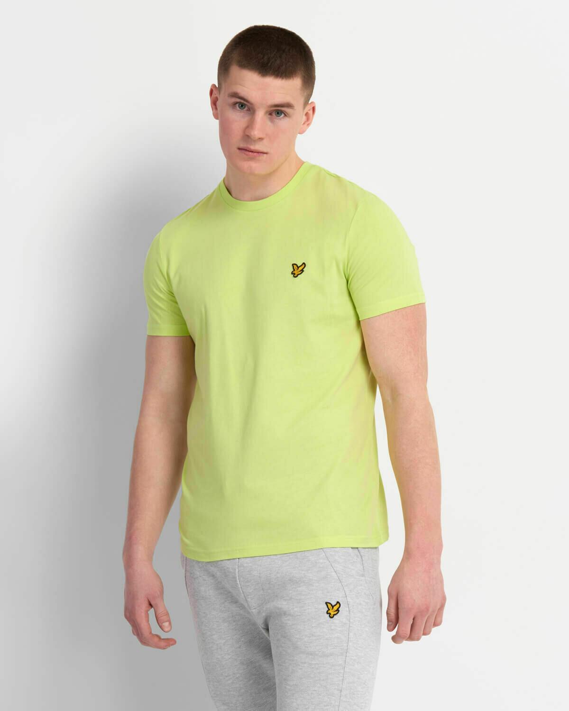 Lyle & Scott   Crew Neck T-Shirt - Sharp Green