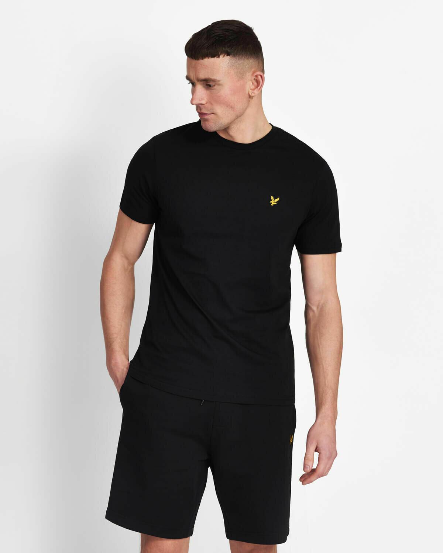 Lyle & Scott   Crew Neck T-Shirt - True Black