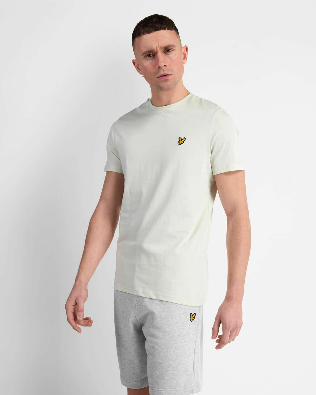 Lyle & Scott   Crew Neck T-Shirt - Cloud Mint