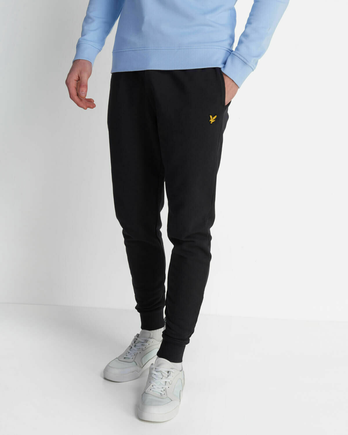 Lyle & Scott | Skinny Sweatpants - Jet Black