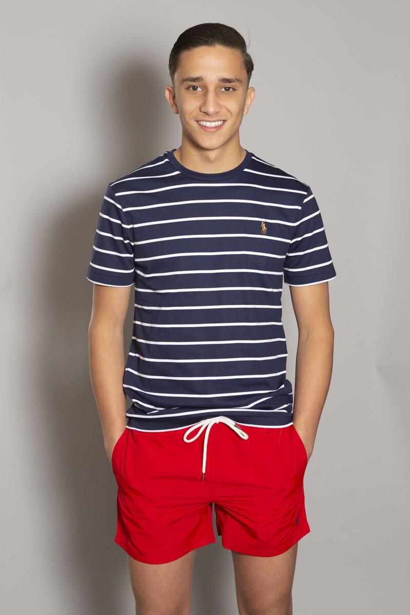 Ralph Lauren I  Basic shirt - Navy White Stripes
