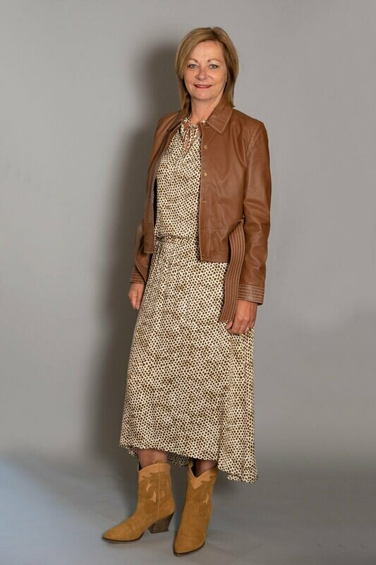 Ibana | Jacket - Brown