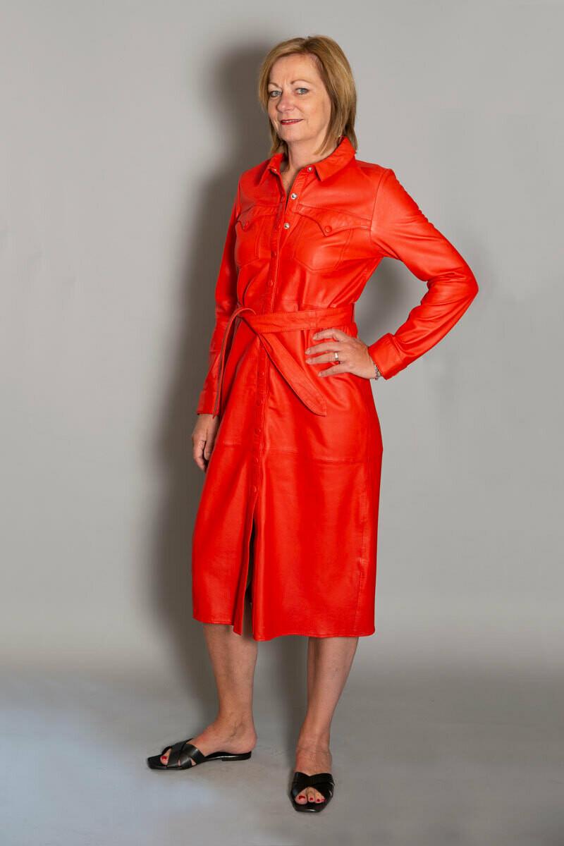 Ibana   Dress - Red