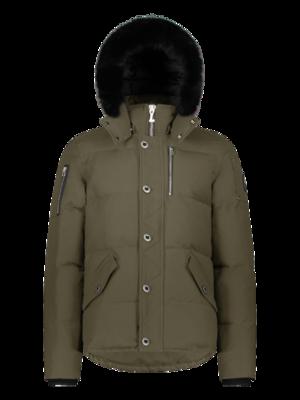 Moose Knuckles | 3Q Jacket | Army/Black