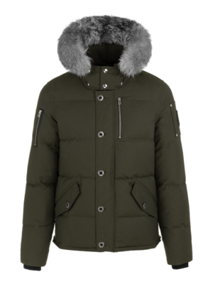 Moose Knuckles | 3Q Jacket | Army/Frost