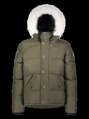 Moose Knuckles | 3Q Jacket | Army/Natural