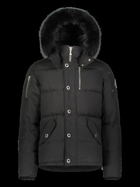 Moose Knuckles   3Q Jacket   Black/Black